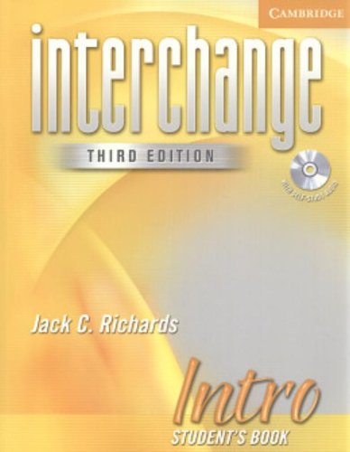 9780521601498: Interchange Intro Student's Book with Audio CD (Interchange Third Edition)