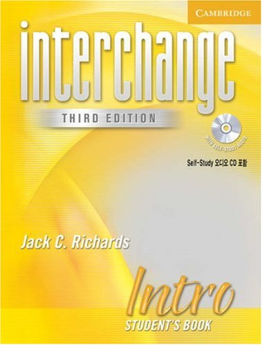 9780521601504: Interchange Intro Student's Book with Audio CD Korea Edition