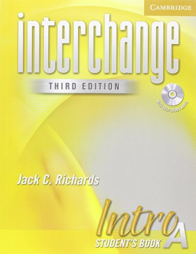 9780521601535: Interchange Intro Student's Book A with Audio CD