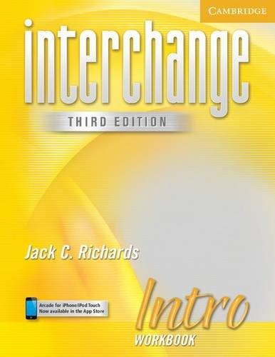 9780521601559: Interchange Intro Workbook (Interchange Third Edition)