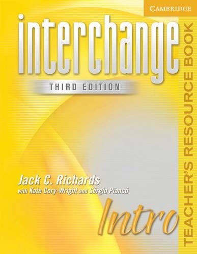 9780521601597: Interchange Intro Teacher's Resource Book (Interchange Third Edition)