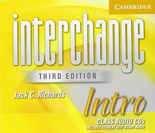 9780521601641: Interchange Intro Class Audio CDs (Interchange Third Edition)