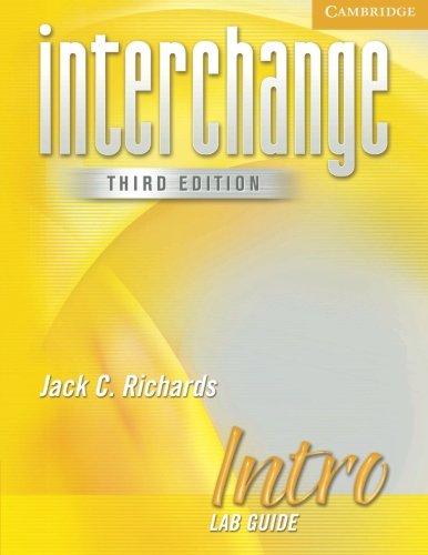 9780521601658: Interchange Intro Lab Guide (Interchange Third Edition)