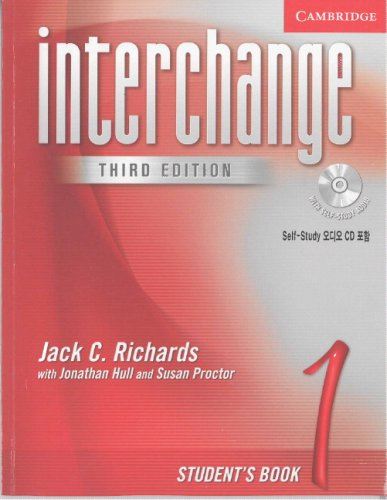 9780521601726: Interchange Student's Book 1 with Audio CD Korea Edition (Interchange Third Edition)