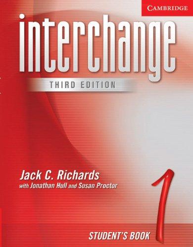 9780521601733: Interchange 3rd Student's Book 1: Level 1 (Interchange Third Edition)