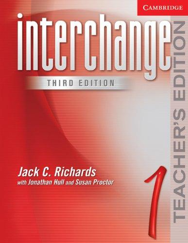 9780521601801: Interchange Teacher's Edition 1 (Interchange Third Edition)