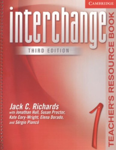 9780521601818: Interchange Teacher's Resource Book 1