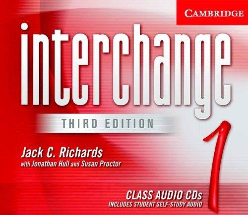 9780521601849: Interchange Class Audio CDs 1 (Interchange Third Edition)