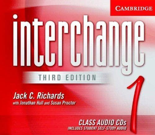 9780521601849: Interchange Level 1 Class Audio CDs 1