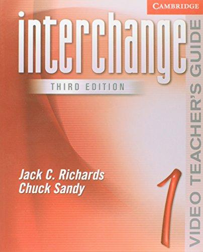 9780521601924: Interchange Video Teacher's Guide 1: Level 1 (Interchange Third Edition)