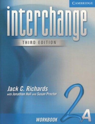 9780521602013: Interchange Workbook 2A