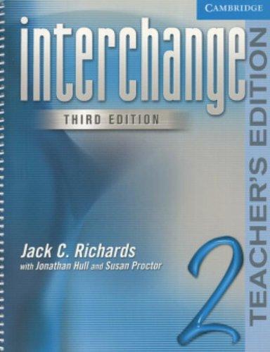 9780521602037: Interchange 3rd Teacher's Edition 2 (Interchange Third Edition)
