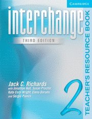 9780521602044: Interchange 3rd Teacher's Resource Book 2: Teacher's Resource Book Level 2 (Interchange Third Edition)