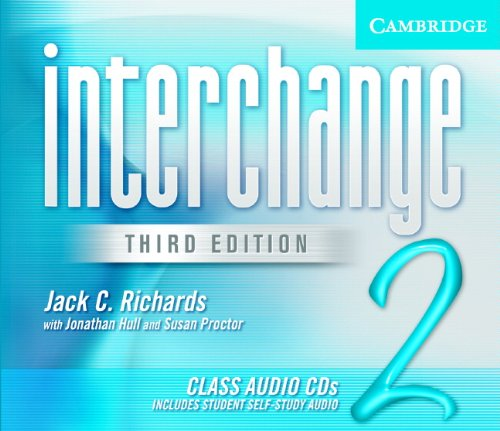 9780521602068: Interchange Class Audio CDs 2 (Interchange Third Edition)