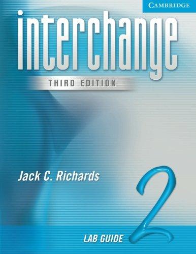 9780521602099: Interchange Lab Guide 2 (Interchange Third Edition)