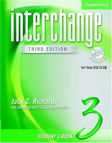 9780521602174: Interchange Student's Book 3 with Audio CD Korea Edition