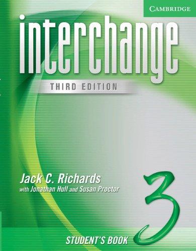 9780521602181: Interchange 3rd Student's Book 3: Level 3 (Interchange Third Edition)