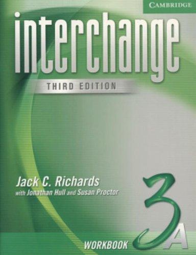 9780521602235: Interchange Workbook 3A