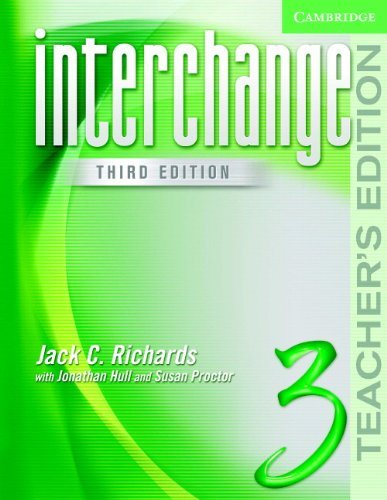 9780521602259: Interchange Teacher's Edition 3 (Interchange Third Edition S)