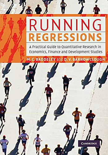 9780521603089: Running Regressions: A Practical Guide to Quantitative Research in Economics, Finance and Development Studies