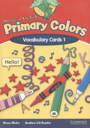 9780521603188: American English Primary Colors 1 Vocabulary Cards