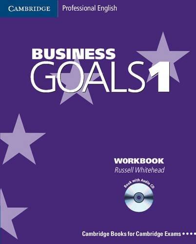 9780521603201: Business goals. Workbook. Con CD Audio. Per le Scuole superiori: 1