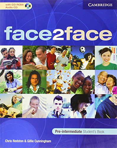 face2face Pre-intermediate Student's Book with CD-ROM/Audio CD (0521603358) by Chris Redston; Gillie Cunningham
