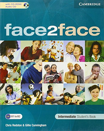 face2face Intermediate Student's Book with CD-ROM/Audio CD: Chris Redston; Gillie