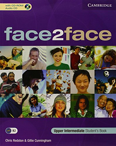 9780521603379: face2face Upper Intermediate Student's Book with CD-ROM/Audio CD
