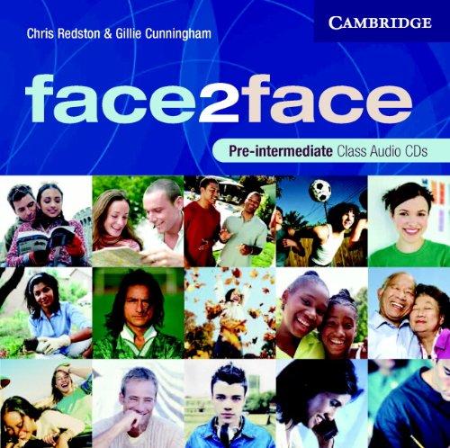 9780521603393: face2face Pre-intermediate Class CDs