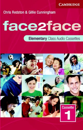 9780521603423: face2face Elementary Class Cassettes