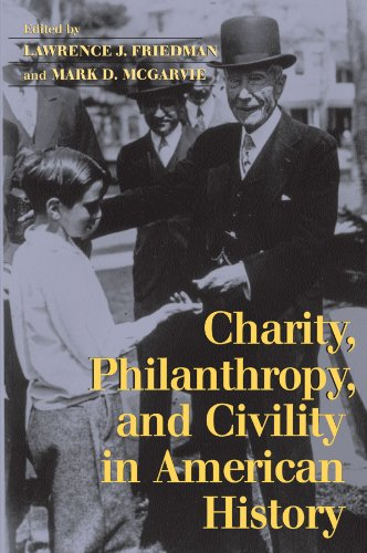 9780521603539: Charity, Philanthropy, and Civility in American History
