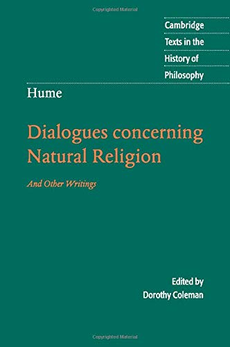 9780521603591: Hume: Dialogues Concerning Natural Religion: And Other Writings (Cambridge Texts in the History of Philosophy)