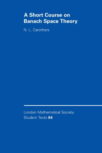 9780521603720: A Short Course on Banach Space Theory (London Mathematical Society Student Texts)