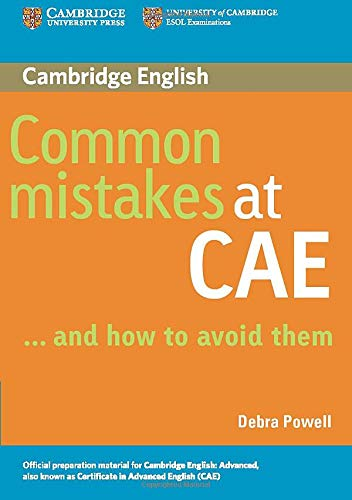9780521603775: Common Mistakes at CAE...and How to Avoid Them