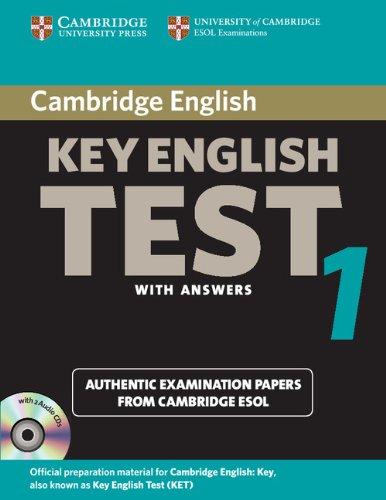 9780521603881: Cambridge Key English Test 1 Self Study Pack: Examination Papers from the University of Cambridge ESOL Examinations (KET Practice Tests)