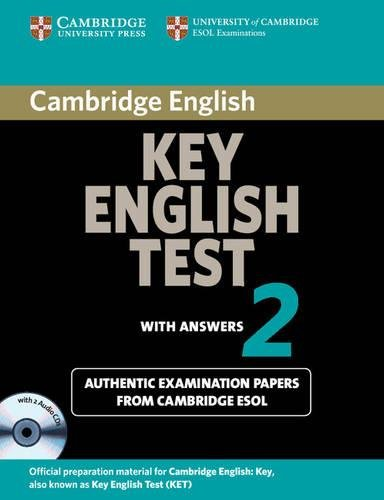 9780521603898: Cambridge Key English Test 2 Self Study Pack: Examination Papers from the University of Cambridge ESOL Examinations