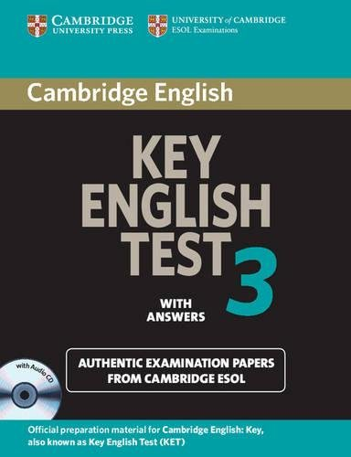 9780521603904: Cambridge Key English Test 3 Self Study Pack: Examination Papers from the University of Cambridge ESOL Examinations (KET Practice Tests)