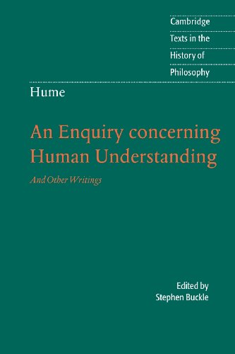 9780521604031: Hume: An Enquiry concerning Human Understanding Paperback: And Other Writings (Cambridge Texts in the History of Philosophy)