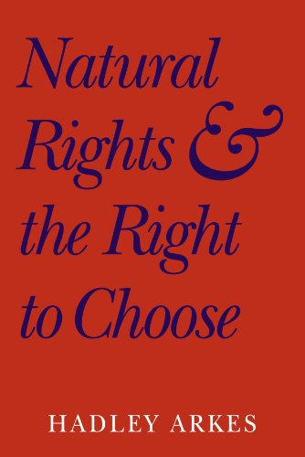9780521604789: Natural Rights and the Right to Choose