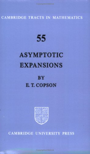 9780521604826: Asymptotic Expansions (Cambridge Tracts in Mathematics)