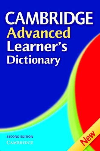 9780521604987: Cambridge Advanced Learner's Dictionary