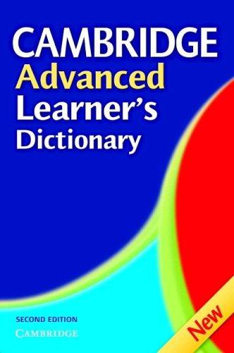 9780521604987: Cambridge Advanced Learner's Dictionary