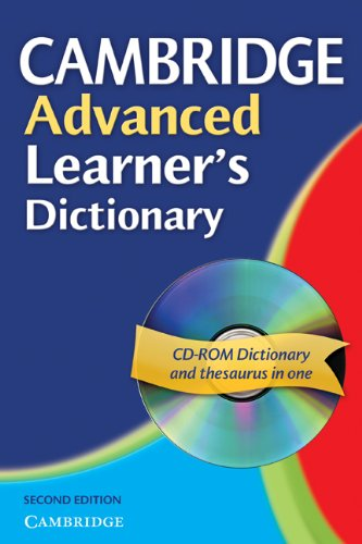 9780521604994: Cambridge Advanced Learner's Dictionary Paperback with CD-ROM