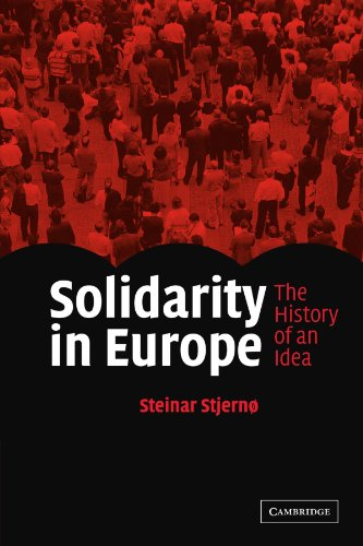 9780521605113: Solidarity in Europe: The History of an Idea