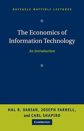 9780521605212: The Economics of Information Technology: An Introduction