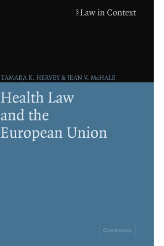 Health Law and the European Union.: Hervey, Tamara K. & Jean V. McHale.