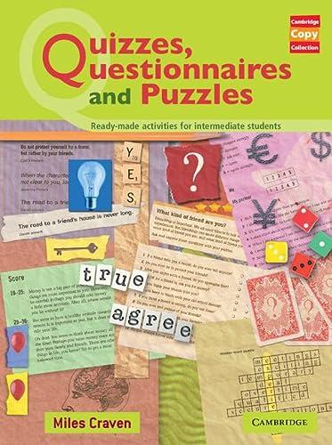 9780521605823: Quizzes, Questionnaires and Puzzles (Cambridge Copy Collection)
