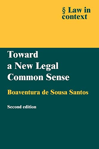 9780521605953: Toward a New Legal Common Sense