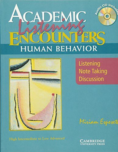 9780521606202: Academic Encounters Human Behavior Student's Book with Audio CD: Listening, Note Taking, and Discussion